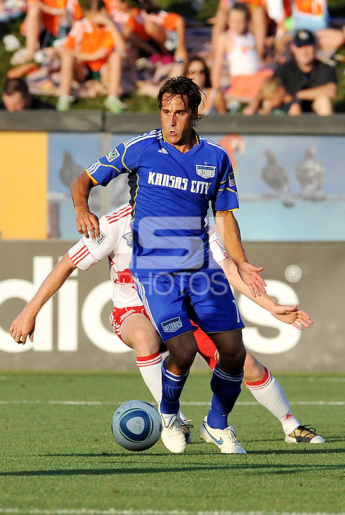 Josh Wolff...Kansas City Wizards were defeated 3-0 by New York Red Bulls at Community America Ballpark, Kansas City, Kansas.
