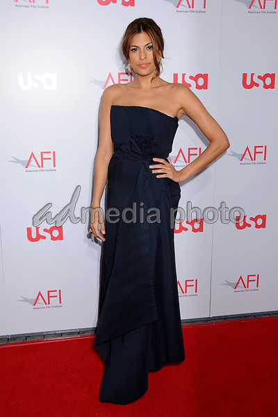 12 June 2008 - Hollywood, California - Eva Mendes. 36th Annual AFI Life Achievement Award at the Kodak Theatre. Photo Credit: Byron Purvis/AdMedia