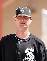 Garrett Johnson, Chicago White Sox minor league spring training..Photo by:  Bill Mitchell/Four Seam Images.