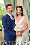 Michelle Murphy, Gneeveguilla, daughter of Michael and Mai Murphy, and Padraig Murphy, Killarney, son of Pat and Nora Murphy, were married at Church of the Holy Rosary, Gneeveguilla by Fr. Kevin McNamara on Friday 15th May 2015 with a reception at Ballyseede Castle Hotel