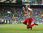 Liam Kelly celebrates scoring for Kilmarnock