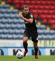 18th July 2020; Ewood Park, Blackburn, Lancashire, England; English Football League Championship Football, Blackburn Rovers versus Reading; George Puscas of Reading races forward with the ball