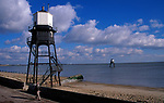 A728G2 Victorian lighthouse beacon structures Leading Lights Dovercourt Essex England