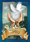Alfredo, EASTER RELIGIOUS, OSTERN RELIGIÖS, PASCUA RELIGIOSA, paintings+++++,BRTOCH40627CP,#er# dove,paloma ,holy bible