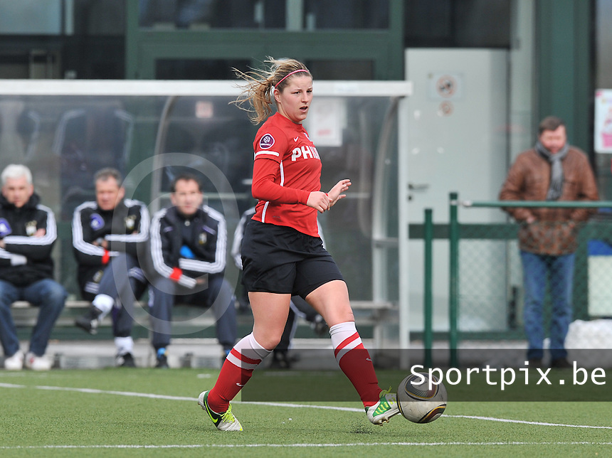 RSC Anderlecht Dames - PSV / FC Eindhoven : Marlou Peeters.foto David Catry / Vrouwenteam.be