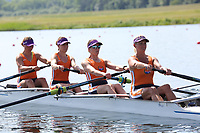 Race: 16  Event: Women's Coxless Fours - Championship - Heat<br /> <br /> National Schools Regatta 2018<br /> Sunday<br /> <br /> To purchase this photo, or to see pricing information for Prints and Downloads, click the blue 'Add to Cart' button at the top-right of the page. The Metropolitan Regatta 2018