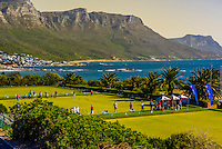 Lawn bowling, Camps Bay Bowling Club, Camps Bay, Cape Town, South Africa.