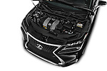 Car Stock 2016 Lexus RX F SPORT 5 Door Suv 2WD Engine  high angle detail view