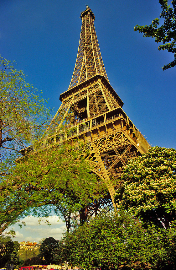 France. Paris, Eiffel Tower.