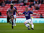 John Fleck of Sheffield Utd  and Didier NDong of Sunderland during the Championship match at the Stadium of Light, Sunderland. Picture date 9th September 2017. Picture credit should read: Simon Bellis/Sportimage