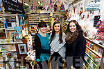 Sheila McQuinn, Kayleigh Quirke and Clover Wharton at Horans Health Store The Square, Tralee