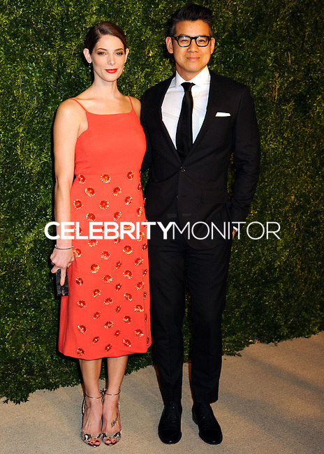 NEW YORK CITY, NY, USA - NOVEMBER 03: Ashley Greene, Peter Som arrive at the 11th Annual CFDA/Vogue Fashion Fund Awards held at Spring Studios on November 3, 2014 in New York City, New York, United States. (Photo by Celebrity Monitor)