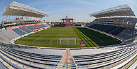 Bridgeview, IL, USA - Saturday, April 23, 2016: Toyota Park prior to a NWSL match between The Chicago Red Stars and the Western New York Flash.