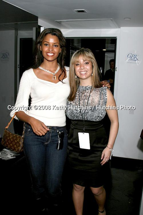 Claudia Jordan.waring Lindsay Marie Pearls.GBK Gifting Suite.Thompson Hotel.Beverly Hills, CA.January 10, 2008.©2008 Kathy Hutchins / Hutchins Photo...            .