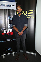 10 July 2019 - Los Angeles, California - McKinley Freeman. LA Press Junket For TV One's A Month Of Love, Lies, And Murder held at TV One Headquarters. Photo Credit: Faye Sadou/AdMedia