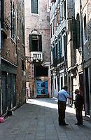 Venice:  a three minute walk--3.  Photo '83.