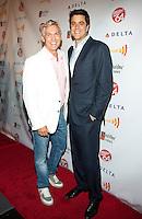 Sam Champion and Josh Elliot at GLAAD Manhattan in New York City.  August 7, 2012.  © Laura Trevino/Media Punch Inc. /Nortephoto.com<br /> <br /> <br /> **SOLO*VENTA*EN*MEXICO**<br /> **CREDITO*OBLIGATORIO** <br /> *No*Venta*A*Terceros*<br /> *No*Sale*So*third*<br /> *** No Se Permite Hacer Archivo**<br /> *No*Sale*So*third*