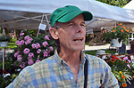 Patrick Wadden, of the Arm-of-the-Sea Theater, seen at the Saugerties Farmer's Market on Main Street in the Village of Saugerties, NY, on Saturday, June 10, 2017. Photo by Jim Peppler. Copyright/Jim Peppler-2017.