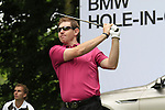 Stephen Gallacher (SCO) tees off on the par3 17th tee during Day 1 of the BMW International Open at Golf Club Munchen Eichenried, Germany, 23rd June 2011 (Photo Eoin Clarke/www.golffile.ie)