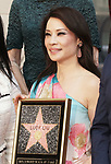 Lucy Liu Honored With Star On The Hollywood Walk Of Fame on May 01, 2019 in Hollywood, California.<br /> Lucy Liu 043
