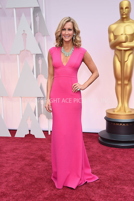 WWW.ACEPIXS.COM<br /> <br /> February 22 2015, LA<br /> <br /> Lara Spencer arriving at the 87th Annual Academy Awards at the Hollywood &amp; Highland Center on February 22, 2015 in Hollywood, California.<br /> <br /> By Line: Z15/ACE Pictures<br /> <br /> <br /> ACE Pictures, Inc.<br /> tel: 646 769 0430<br /> Email: info@acepixs.com<br /> www.acepixs.com