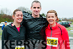 Listowel Half Marathon & 10k: Pictured at the Listowel half marathon & 10k  organised by the Kerry Crusaders in Listowel on Saturday morning last were Lisa & Martin Crowley & Stephanie Treyvaud from Killarney.
