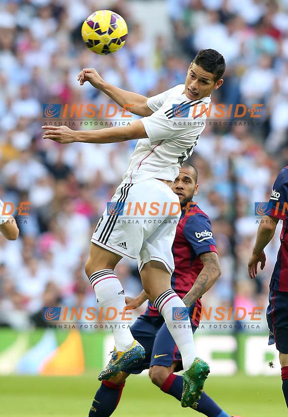 Real Madrid's James Rodriguez during La Liga match.October 25,2014. (ALTERPHOTOS/Acero) <br /> Clasico<br /> Foto Insidefoto