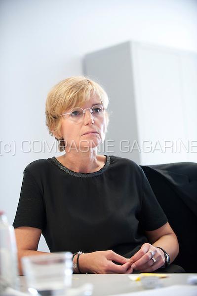 Sylvianne Portugaels, Deputy Director General at the CHR de la Citadelle de Liege public hospital (Belgium, 15/09/2014)