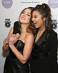 Erika Henningsen and Ashley Park attends the Casting Society of America's 33rd annual Artios Awards at Stage 48 on January 18, 2018 in New York City.