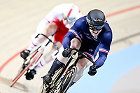 Picture by SWpix.com - 03/03/2018 - Cycling - 2018 UCI Track Cycling World Championships, Day 4 - Omnisport, Apeldoorn, Netherlands - Men's Sprint Quarterfinals - Sebastien Vigier of France and Mateusz Rudyk of Poland