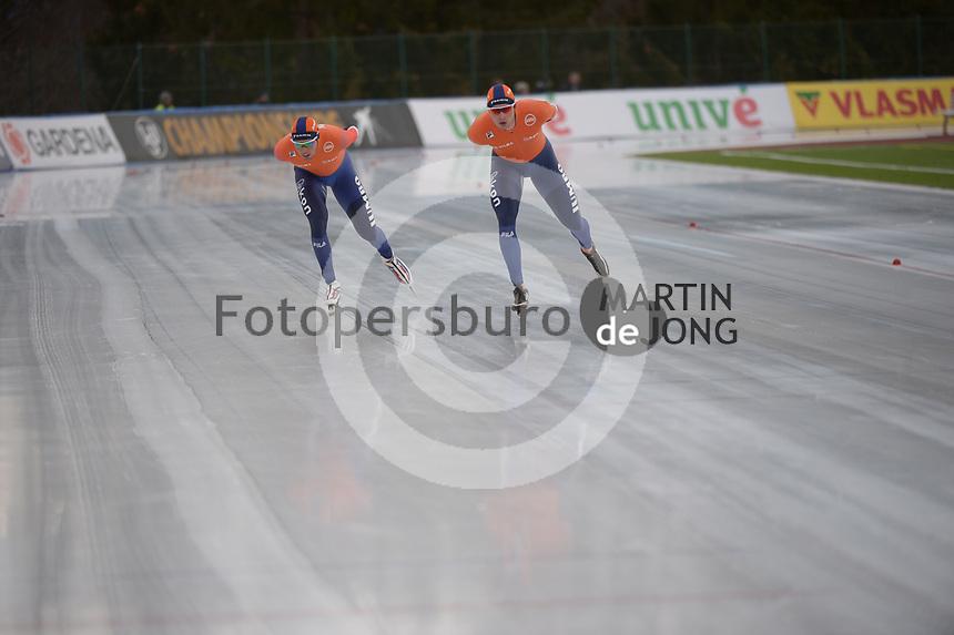 SPEED SKATING: COLLALBO: Arena Ritten, 13-01-2019, ISU European Speed Skating Championships, schaatsfans, ©photo Martin de Jong