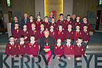 Bill Murphy Bishop of Kerry who confirmed the class of Mr Sean Lyons Holy Family School, Tralee on Friday in Our Lady & St Bfrendan's Church, Tralee................... . ............................... ..........