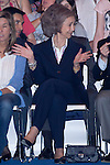 26.05.2012. Queen Sofia of Spain attend the inauguration of the ?100 X 100 Pet. Animal Fair Company? at the IFEMA in Madrid. In the image Queen Sofia (Alterphotos/Marta Gonzalez)