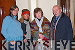 PHOTO: Posing for a photo before taking their seats in the Church of the Assumption, Abbeyfeale for the Finbarr Wright concert were Annette Collins (Abbeyfeale), Charlotte Gleeson (Limerick), Margaret Harnett and John J Lacey (Newcastlewest).   Copyright Kerry's Eye 2008