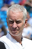 Four-time champion John McEnroe at Aegon Queens Tennis Championship June 17, 2016 in London England.<br />