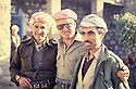 Iraq 1993<br /> April in Salaheddin,  from left to right, Dr. Said Barzani, Dr. Mohamed Saleh Goma and Babeker Zibari  <br /> Irak 1993 <br /> Avril a Salaheddin, de gauche a droite, Dr. Said Barzani, Dr. Mohammed Saleh Goma et Babeker Zibari
