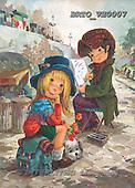 Alfredo, CHILDREN, paintings, BRTOVE0007,#K# Kinder, niños, nostalgisch, nostálgico, illustrations, pinturas