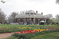 PHOTOS NOT FOR SALE ON THIS WEBSITE..Monticello marked the 274th anniversary of Thomas Jefferson's birth and Founder's Day with a celebration and ceremony on the west lawn Thursday in Charlottesville, Va. Photo/Andrew Shurtleff Photography, LLC