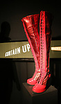 'Kinky Boots' costume at Curtain Up: Celebrating the Last 40 Years of Theatre in New York and London Exhibition on June 14, 2017 at the New York Public Library for the Performing Arts at Lincoln Center.