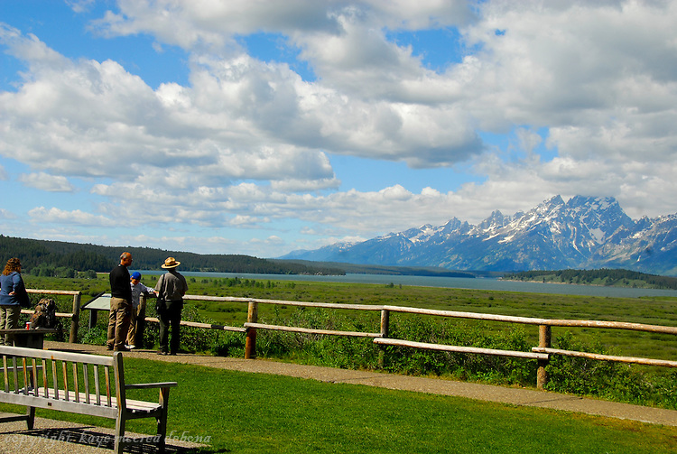Grand Tetons and Jackson Lake Lodge
