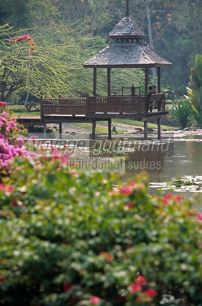 "Asie/Thaïlande/Env de Chiang Mai : Jardin de la ""Suan Bua Thani Resort"""