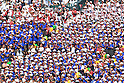 Osaka Toin fans,<br /> AUGUST 25, 2014 - Baseball :<br /> Osaka Toin fans cheer during the 96th National High School Baseball Championship Tournament final game between Mie 3-4 Osaka Toin at Koshien Stadium in Hyogo, Japan. (Photo by Katsuro Okazawa/AFLO)