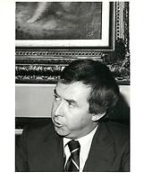 Joe Clark, le 6 mars 1979<br /> <br /> <br /> PHOTO :  John Raudsepp - Agence Quebec presse