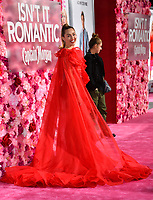 LOS ANGELES, CA. February 11, 2019: Miley Cyrus at the premiere of &quot;Isn't It Romantic&quot; at The Theatre at Ace Hotel.<br /> Picture: Paul Smith/Featureflash