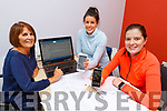 At the launch of the PHYZ App at the Kerry ETB offices in Tralee on Monday. <br /> Debra Tanninghill (Univ of Limerick) with teachers Lorretta Maher (Killarney Comm College) and Julie Kelly (Killorglin Comm College).