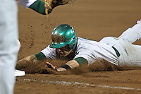 February 20, 2010:  Outfielder Anthony Giansanti (6) of the Siena Saints during the season opener at Melching Field at Conrad Park in DeLand, FL.  Siena defeated Stetson by the score of 8-4.  Photo By Mike Janes/Four Seam Images