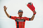 Sonny Colbrelli (ITA) Bahrain-Merida wins Stage 4 of 10th Tour of Oman 2019, running 131km from Yiti (Al Sifah) to Oman Convention and Exhibition Centre, Oman. 19th February 2019.<br /> Picture: ASO/K&aring;re Dehlie Thorstad | Cyclefile<br /> All photos usage must carry mandatory copyright credit (&copy; Cyclefile | ASO/K&aring;re Dehlie Thorstad)