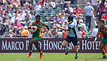 Guyana vs Uruguay on Day 3 of the 2012 Cathay Pacific / HSBC Hong Kong Sevens at the Hong Kong Stadium in Hong Kong, China on 25th March 2012. Photo © Victor Fraile  / The Power of Sport Images