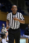 15 November 2016: Official Marc Merritt. The Duke University Blue Devils hosted the Longwood University Lancers at Cameron Indoor Stadium in Durham, North Carolina in a 2016-17 NCAA Division I Women's Basketball game. Duke won the game 105-48.