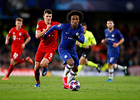 25th February 2020; Stamford Bridge, London, England; UEFA Champions League Football, Chelsea versus Bayern Munich; Willian of Chelsea